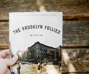 book, paul auster, and the brooklyn follies image