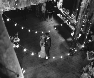 black and white, bride and groom, and canon image
