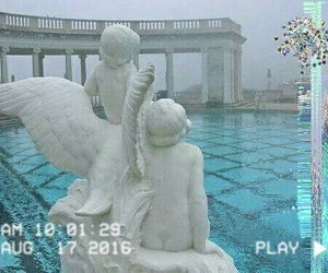 aesthetic, angel, and angels image