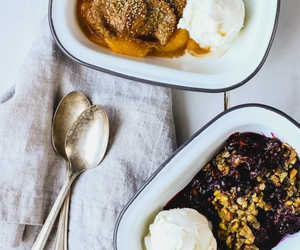 crumble, pistachio, and brown butter image