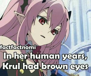 anime, owari no seraph, and anime facts image