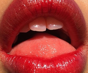 lips, red, and tumblr image