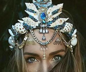 mermaid, crown, and alternative image