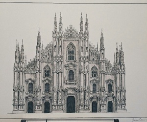 amazing, architecture, and drawing image
