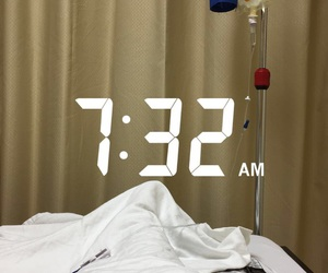 alone and hospital image
