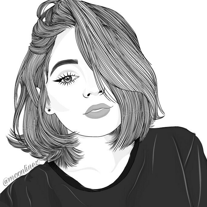 290 Images About Draw On We Heart It See More About Girl Art And