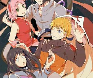 naruto, anime, and sasusaku image