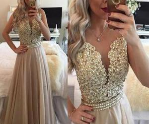 dress, evening dresses, and fashion image