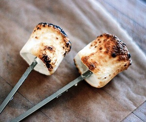 marshmallow, food, and yummy image