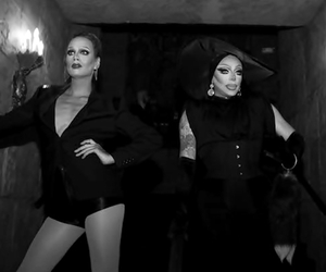 drag queen, raven, and RuPaul image