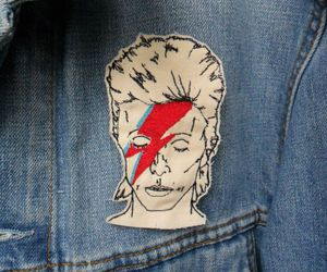 david bowie, jeans, and love image