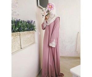 hijab, muslim girl, and islam looks image