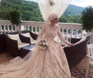 beauty, bride, and caucasus image