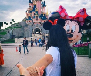 disney, disneyland, and couple image