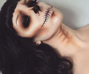 Halloween, catrina, and makeup image