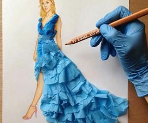 dress and art image