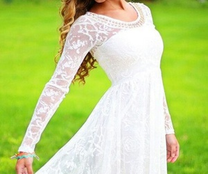 short dress, spring dress, and spring wedding image