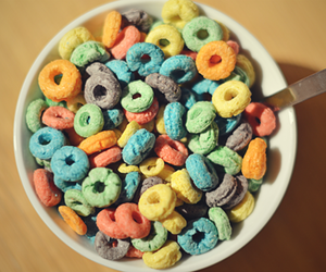 cereal, food, and fruit image