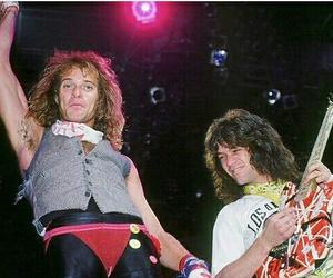 Eddie Van Halen, van halen, and david lee roth image
