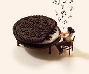 oreo, music, and piano image
