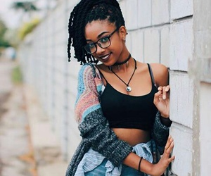 curly hair, girl, and hair style image