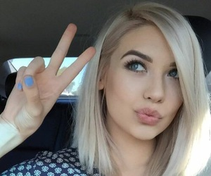 hair, amanda steele, and blonde image