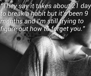 boy, forget, and habits image