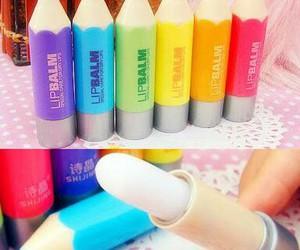 lip balm and pencil image
