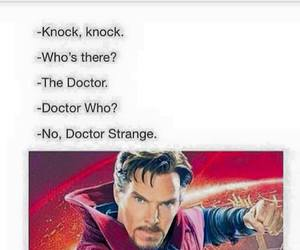 Marvel, doctor strange, and funny image