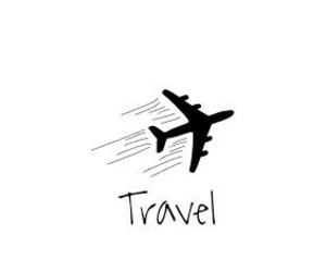 travel, quote, and black and white image
