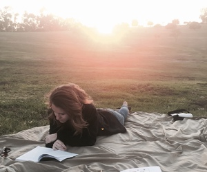 alone, boho, and hipster image