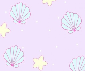 wallpaper, background, and mermaid image