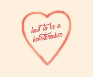 heart, heartbreaker, and pink image