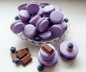 food, chocolate, and purple image