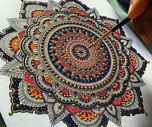 art, beautiful, and mandala image