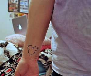 tattoo and mickey image