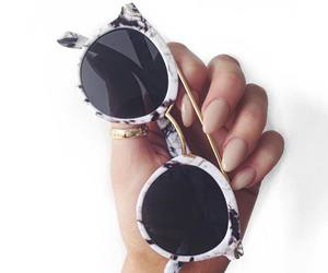 sunglasses, nails, and accessories image