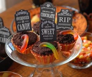 autumn, Halloween, and food image