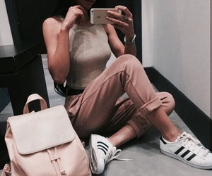 adidas, blonde, and body image