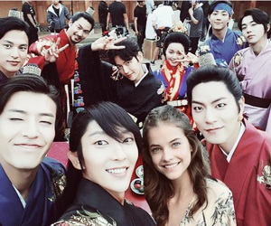 actor, exo, and fan image