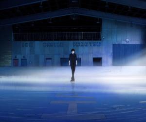 anime, yuri!!! on ice, and figure skating image
