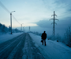 russia and winter image