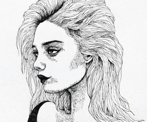 drawing, art, and sky ferreira image