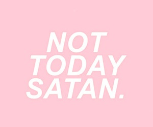 pink, wallpaper, and satan image