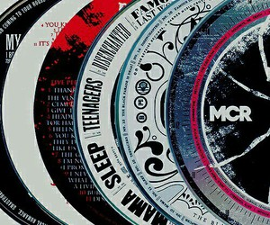 mcr, my chemical romance, and cd image