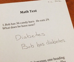 diabetes, funny, and lol image