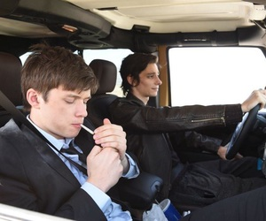 being charlie, nick robinson, and charlie mills image