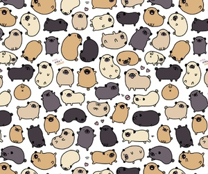 doodle, kawaii, and pattern image