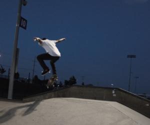 skate, skateboard, and skateboarding image