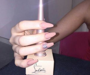 luxury, nails, and makeup image